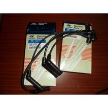 Cables De Bujia Para Hyundai Accent Brisa Getz Original