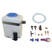 Kit Envase De Agua Limpia Parabrisas Con Bomba Y Accesorios