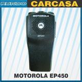 Kit Carcasa Motorola Ep450 Con Perillas Etiquetas Dustcover