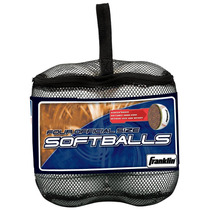 Set De 4 Pelotas Franklin De Softball Nuevas Y Originales