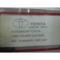 Guaya Acelerador Toyota Land Cruiser Hj75 84/90