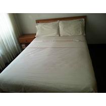 Juego De Dormitorio Matrimonial En Madera - Muy Buen Estado