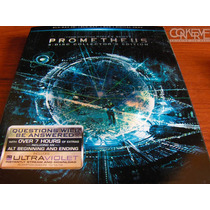 Prometheus 3d (4 Disc Collector¿s Edition) Bluray Original
