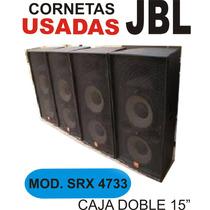 Cornetas Jbl Modelo Srx 4733 Usadas Excelente