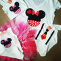 Franelas De Disney Minnie & Mickey Mouse