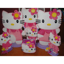 Hermosas Figuras De Hello Kitty En Anime