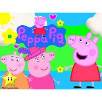 Kit Imprimible Peppa Pig La Cerdita Invitacion Cajas Fiesta