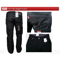 Pantalones De Caballero Bota Recta 100% Originales