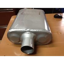 Resonador Tipo Flowmaster Serie 9 (para Carros 4 Cilindros)