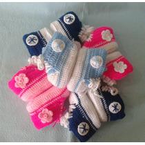 Converse Tejidos A Crochet Bebé Niño Niña
