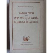 Maria Pineda / Doña Rosita La Soltera Garcia Lorca Teatro