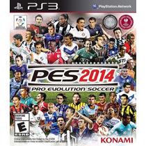 Juego Ps3 Licencia Original Pes2014...