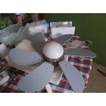 Ventilador De Techo Con Lampara Decorativo Y Moderno
