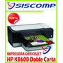 Impresora Hp Officejet Pro K8600 Doble Carta Mini-plotter