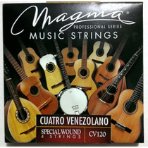 Cuerdas Para Cuatro Entorchadas Profesional Magma Cv120