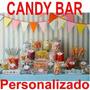 Kit Imprimible Candy Bar Dulceros Personalizados. Fiestas!