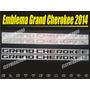 Kit De Emblemas Jeep Grand Cherokee 2014 Para Puertas