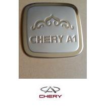 Kit Cobertor Tapa De Gasolina Cromada Chery Arauca
