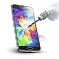 Protector Pantalla Vidrio Templado Samsung S4 Mini Glass 100