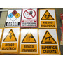 Señales Prevencion Peligro Riesgo Electrico Caida Inflamable