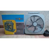 Ecoss Ventilador 10 A Baterias O 110v Con Garantia
