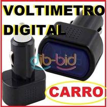 Voltimetro Para Carro12v Y 24 V