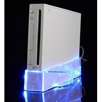 Perfecta Base Con Fan Cooler Para Consola Nintendo Wii