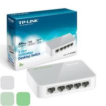 Switch Tp-link Tl-sf1005d 5 Puertos 10/100m Rj45 200mbps