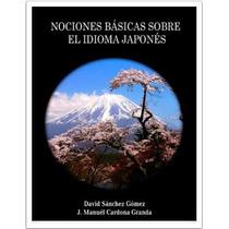Libro Digital Nociones Básicas Sobre El Idioma Japonés