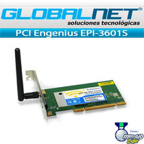 Engenius Pci Epi-3601s 600mw 2.4ghz Super G Inalambrica B/g