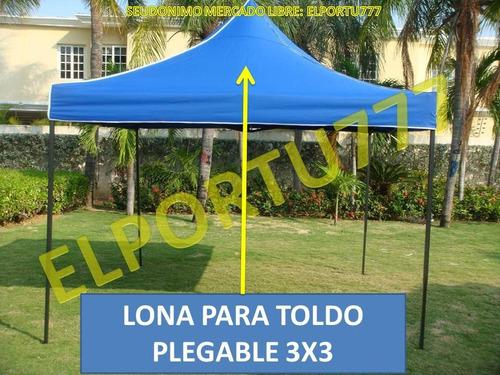 Lona de repuesto de 800dd para toldo plegable for Lonas para toldos precios