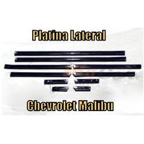 Platinas Laterales Para Chevrolet Malibu 1979-1984 10 Piezas