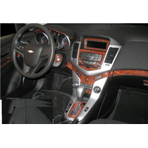 Kit Tablero De Madera Para Interior Chevrolet Cruze