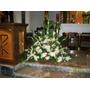 Floristeria Decoracion De Iglesia Con Flores, Ramos Florales