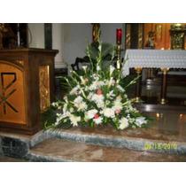 Floristeria Arreglos De Iglesia Con Flores, Ramos Florales