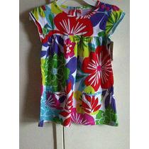 Vestido Carter´s Flores. Gran Colorido Talla 5