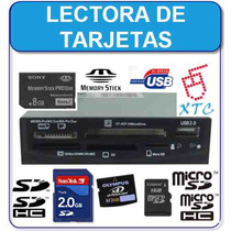 Lector De Memorias Card Reader/writer Interno 32 En 1 Metal