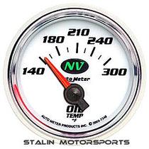 Reloj Temperatura Aceite Electrico Autometer Nv Model 7348