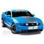 Calcomania Tipo Sticker Para Mustang Parabrisas