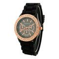 Reloj Geneva Brillantes Hkwatch Original Color Pulsera Damas
