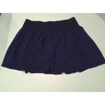 Mini Falda Color Negro Talla S