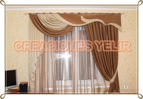 Confeccion de cortinas y cenefas bs u7ajs precio - Precio de cortinas ...