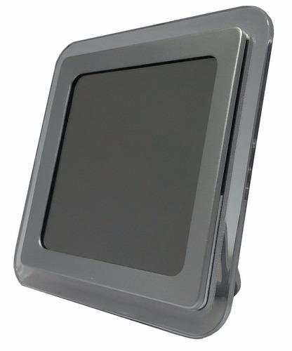 Reloj digital de mesa tipo espejo con despertador bs f for Reloj digital de mesa