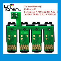 Chip De Sistema Continuo Para Impresora Epson Xp 201/401