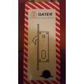 Cerradura Pico Loro Gater 16mm Cilindro Completo