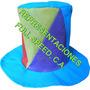 Sombreros Tipo Copa A Triangulo, Fiestas, Hora Loca Eventos