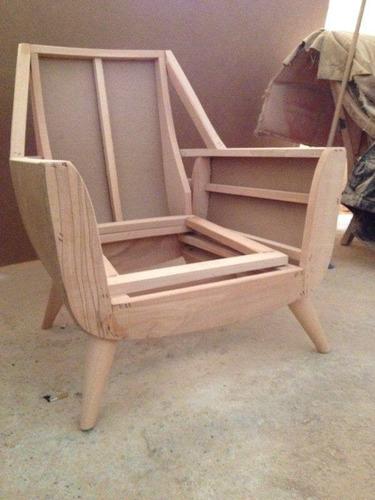 Bellas armasones de poltronas en madera para tapiceria bs - Tapiceria de sillas precios ...