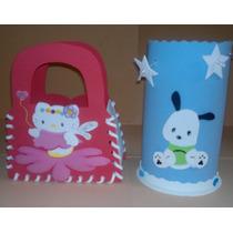Cartera Cotillones Para Niños Y Niñas Foami Hello Kitty