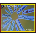 Emblema Moto Outlook Empire Keeway Benelli Tipo Original