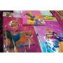 Mantel Servilleta Bolsa Disney Princesas Ben10 Mickey Batman